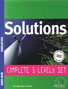 Bộ sách tiếng anh Solutions Grade