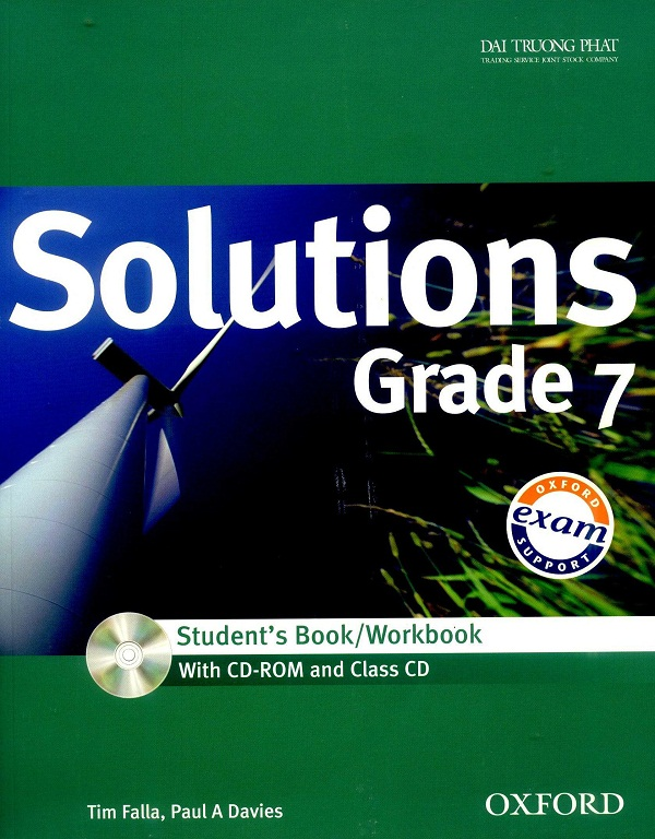 Solutions Grade 7 (Student/Work book)