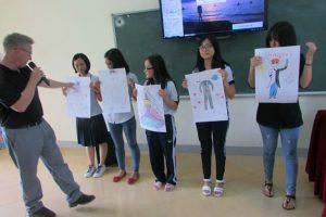 Hoạt động ngoại khóa với giáo viên nước ngoài