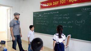 Giáo viên bản ngữ giúp trẻ sớm tiếp xúc với môi trường Anh ngữ