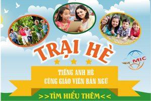 Học tiếng Anh hè cho trẻ với giáo viên bản ngữ