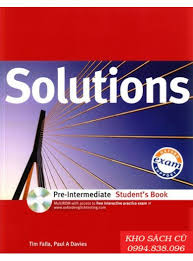 Solutions (Pre - inter Student's Book)