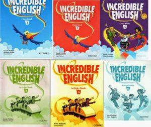 Bộ giáo trình tiếng Anh Incredible