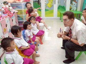 Chương trình dạy tiếng Anh mẫu giáo cho bé uy tín ở Hà Nội