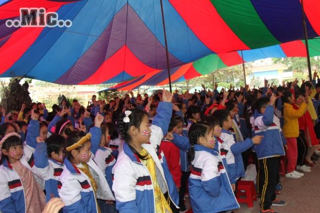 Học sinh Hải Phòng tìm hiểu về Tết cổ truyền qua Festival tiếng Anh