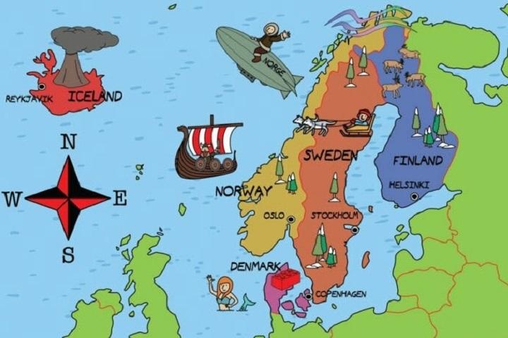 Học tiếng Anh như người Bắc Âu