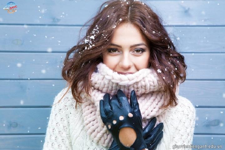 Những cụm từ tiếng Anh thường sử dụng về mùa đông